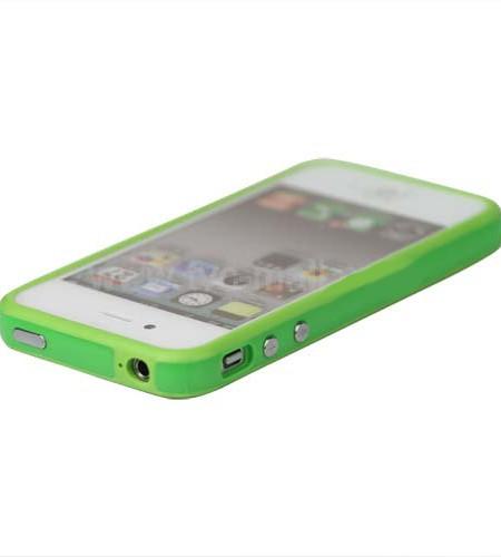 Bumper iPhone 4/4S Vert