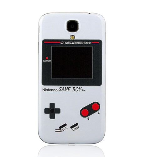 Cache Batterie Samsung Galaxy S4 Game Boy Blanche