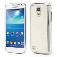 Coque Samsung Galaxy S4 Mini Paillettes Blanc