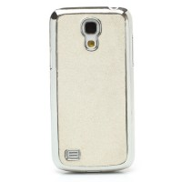 Coque Samsung Galaxy S4 Mini Paillettes Blanc
