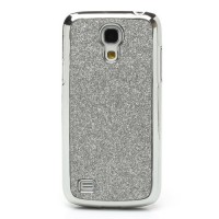 Coque Samsung Galaxy S4 Mini Paillettes Gris