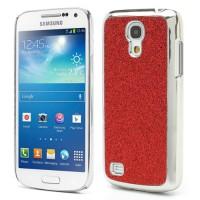 Coque Samsung Galaxy S4 Mini Paillettes Rouge