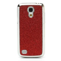 Coque Samsung Galaxy S4 Mini Paillettes Rouge
