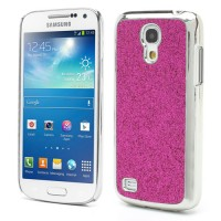 Coque Samsung Galaxy S4 Mini Paillettes Magenta