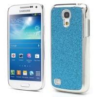 Coque Samsung Galaxy S4 Mini Paillettes Bleu