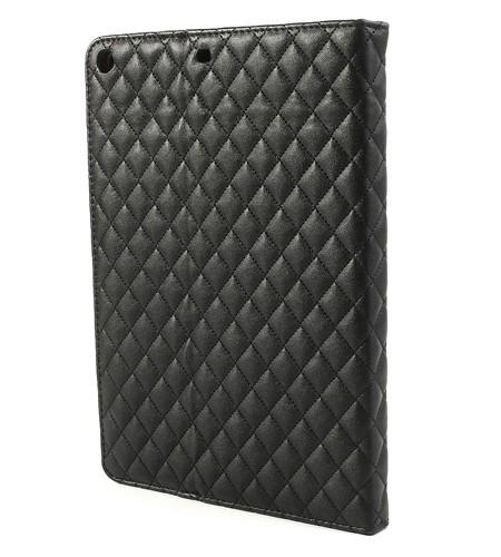 Housse iPad Air Matelassé - Noir