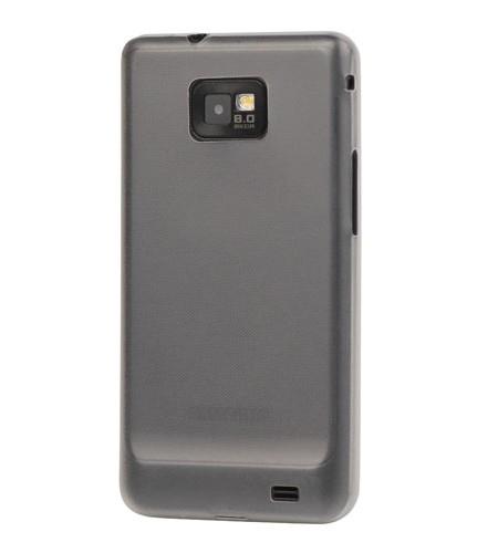 Coque Samsung Galaxy S2 Ultra-Fine – 0,3mm Gris