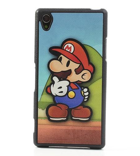 Coque Sony Xperia Z1 Super Mario - Coloré