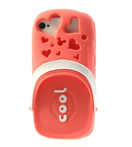 Coque iPhone 4/4S Crocs - Rose Pastèque