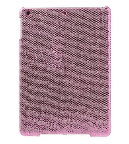 Coque iPad Air Paillettes - Rose