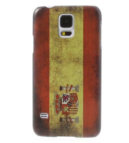 Coque Samsung Galaxy S5 Drapeau Espagnol