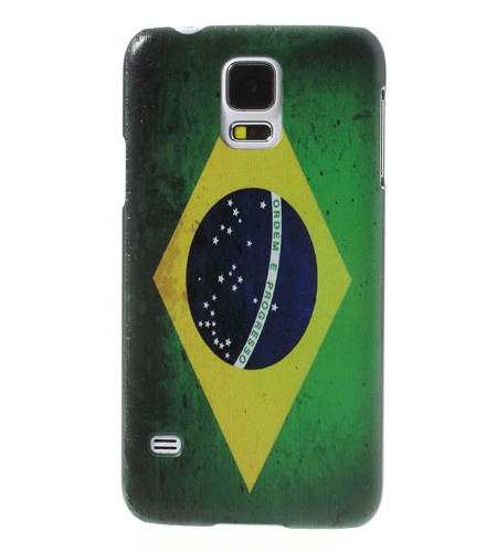 Coque Samsung Galaxy S5 Drapeau Brésilien