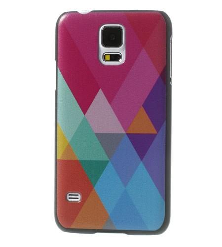 Coque Samsung Galaxy S5 Losanges Colorés
