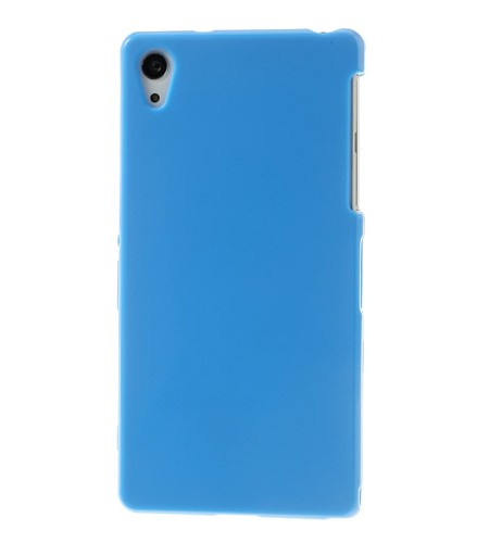 Coque Sony Xperia Z2 Silicone Glossy - Bleu