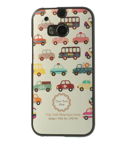 Coque HTC One M8 Multiple Voitures