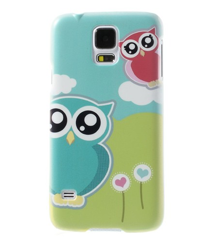 Coque Samsung Galaxy S5 Couple de Hiboux