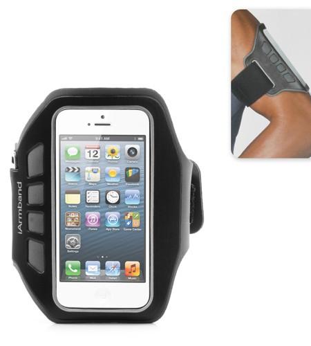 Brassard de Sport pour iPhone 5/5S - Gris