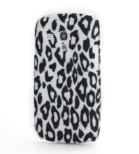 Coque Samsung Galaxy S3 Mini Léopard Blanc