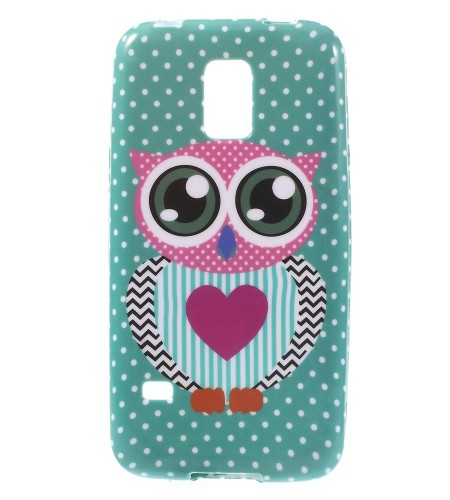 Coque Samsung Galaxy S5 Mini Hibou & Pois
