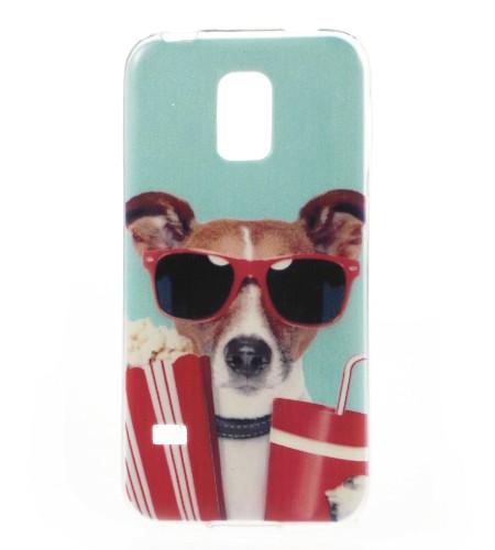 Coque Samsung Galaxy S5 Mini Crazy Dog