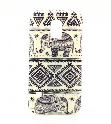 Coque Samsung Galaxy S5 Mini Éléphant Tribal