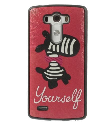 Coque LG G3 Zèbre Yourself