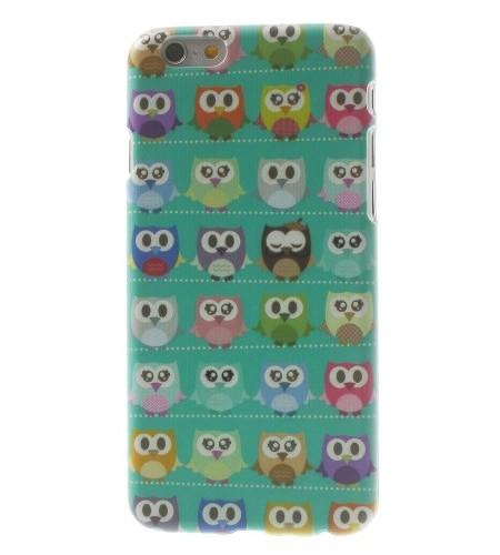 Coque iPhone 6 Multiples Hiboux – Bleu