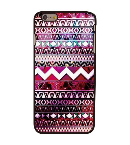 Coque iPhone 6 Plus Aztèque Tribal Zig Zag
