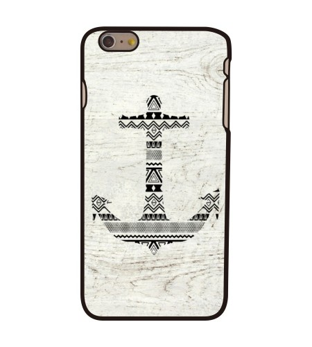 Coque iPhone 6 Plus Wooden Anchor