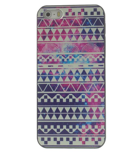 Coque iPhone 5/5S Aztèque Tribal Galaxy