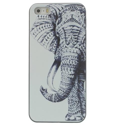 Coque iPhone 5/5S Elephant Tribal