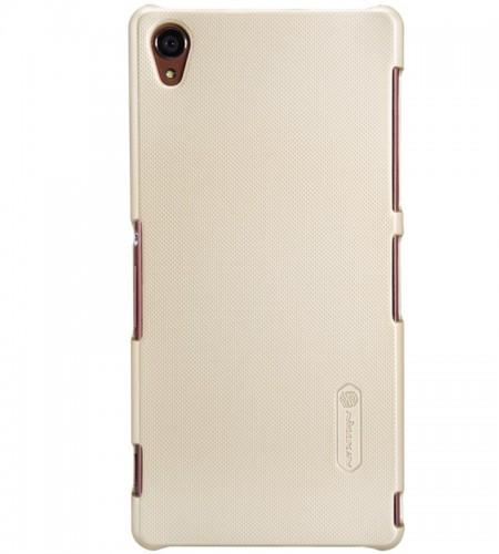 Coque Sony Xperia Z3 Rigide Givré - Doré